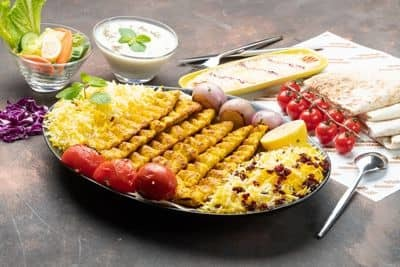 Chicken Kubideh Family Platter 500gms (6 skewers) image
