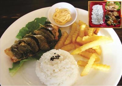 Crispy Egg Roll Rice 日式蛋卷鲜肉饭 image