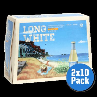 Any 2 Long White Vodka 10 pack image
