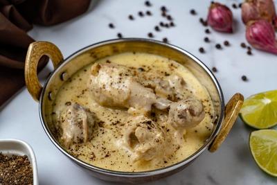 Chicken White Karahi image