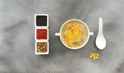 Sweet Corn Chicken Soup image