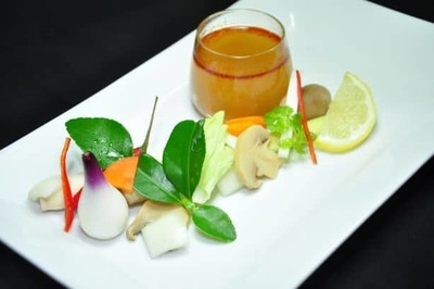 Vegetarian Tomyam image