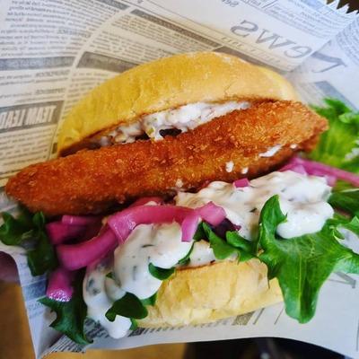Fish'no Chips Burger image