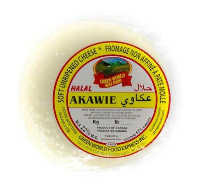 Greenworld Halal Akawie Soft Unripened Cheese 1.38lb image