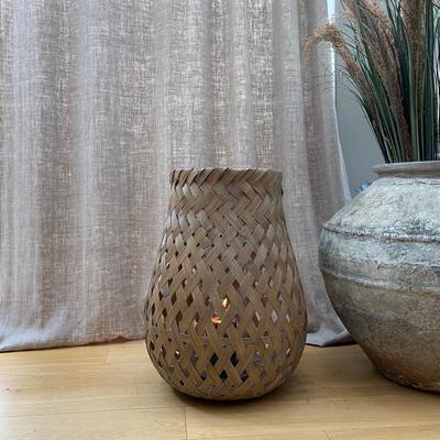Broste Bamboo Basky Lantern - Two Sizes image