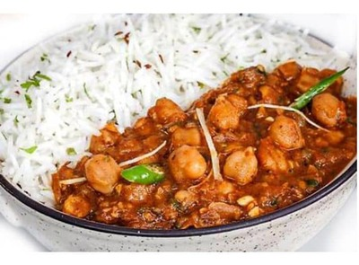 Chole With Rice image