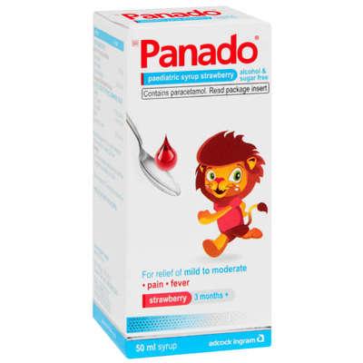 Panado, Children, Strawberry, 50ml image