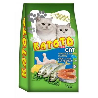Katoto Cat Dry Food Chicken & Seafood 1.2kg image