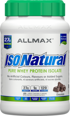 ISONATURAL PROTEIN 2lbs - 4 Flavours image