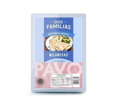 Milanesa de Pavo Natural 500 gr image