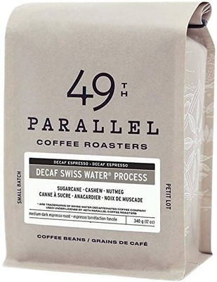 49Th Parallel Coffee Swiss Decaff 340G image