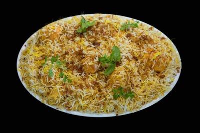 Hyderabadi Egg Biryani(Family Pack-1.5Kg) image