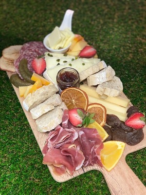 Cheese & Charcuterie board  image