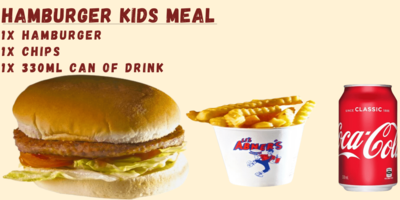 Hamburger Kids Meal image
