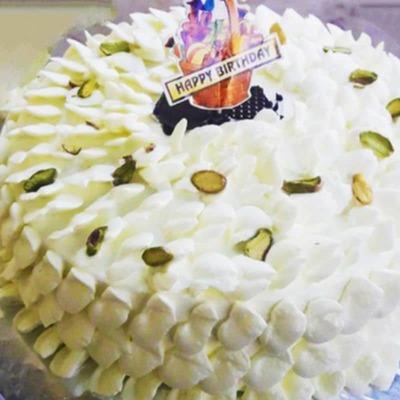 Kaju Malai Cake image
