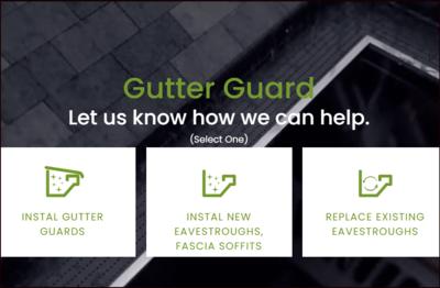 Gutter Guard Installation image