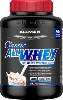ALLWHEY CLASSIC 5lbs - 5 Flavours image