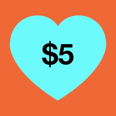 $5 Donation image