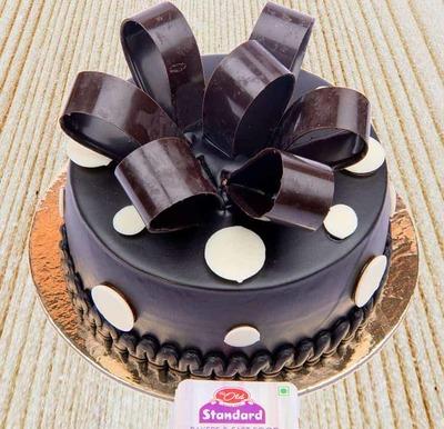 Chocolate Surprise Cake-Egg image