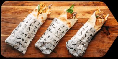 Falafel Wrap (Veg) image
