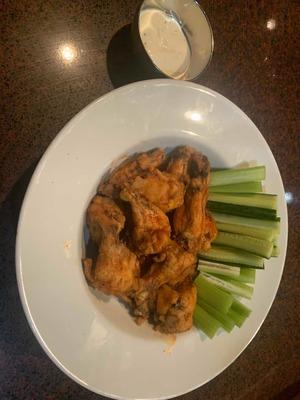 Deep Fried Chicken Wings  image