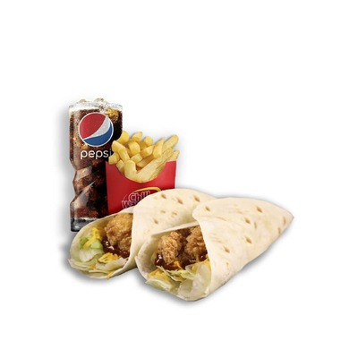 Combo 12 - Chicken Wrap image