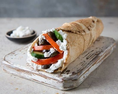 Labneh Wrap image