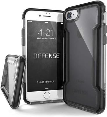 X-Doria Defense 6 Feet Drop Tested Case For Iphone 7G Plus 8 Plus Black image