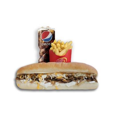 Combo 11 - Mushroom Steak Sandwich image