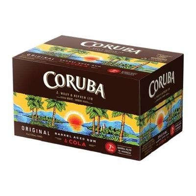 Buy 2 Coruba Rum & Cola 7% 12x250ml image