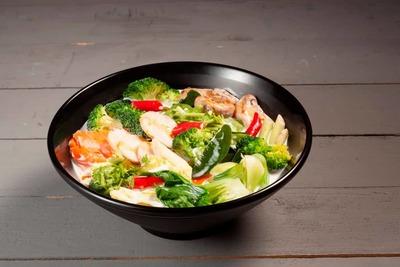 Tom Kha Phak (Vegetables) image