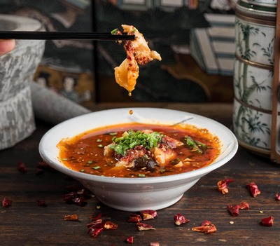 H2. Poached Slices FISH in Chili Oil  (Soup)  image