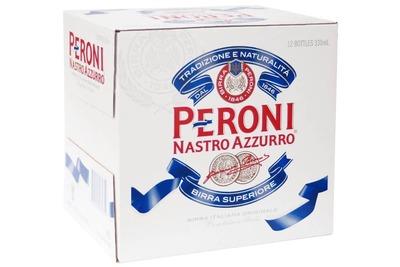 Peroni Nastro Azuro Lgr Btls 12x330mL image