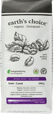 Earth'S Choice Coffee Beans Dark Org image