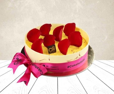Special zaffran cake image