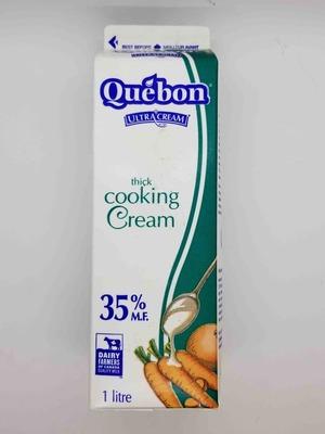 Quebon Thick Cooking Cream 1 L image