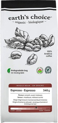 Earth'S Choice Coffee Beans Espresso Org image