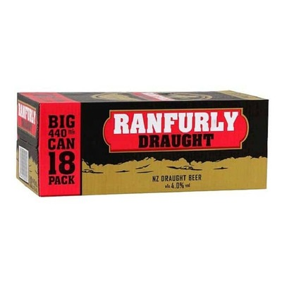 Ranfurly Draught Cans 18x440mL image