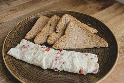 5 egg white omelette image
