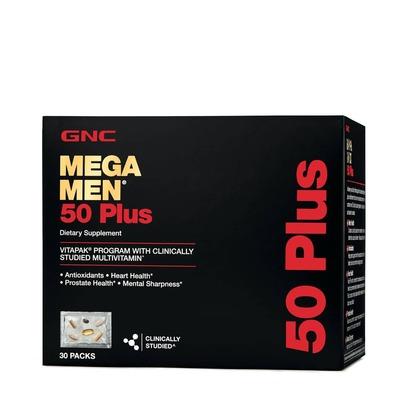 GNC MEGA MEN 50 PLUS VITAPAK image