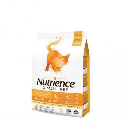 Nutrience GF Cat Chicken / Turkey / Herring 5kg image