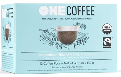Onecoffee Pods Colombian Org 12'S image