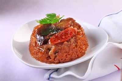 三宝糯米鸡 3 Treasures Steamed Glutinous Rice With Chicken image