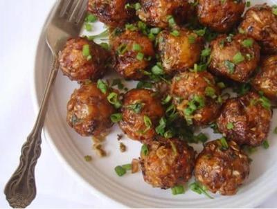Dry Vegetable Manchurian Balls image