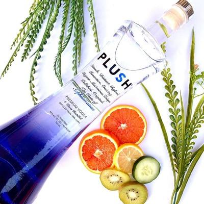 PLUSH Vodka   PURE 750ml image