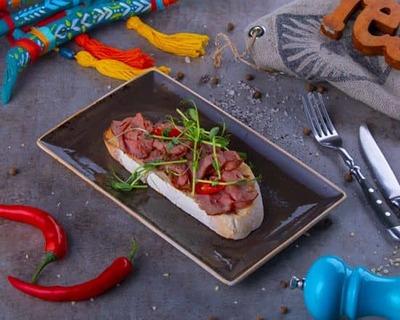Roast Beef Bruschetta image