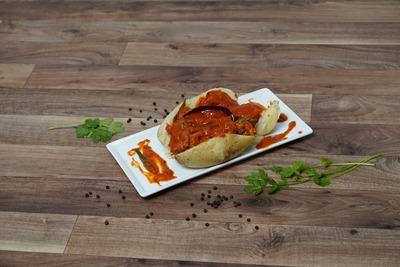 Baked Potato with Labadar chicken image