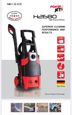 POWERJET H2680 HIGH PRESSURE CLEANER  image
