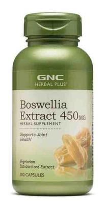 GNC HERBAL PLUS BOSWELLIA EXTRACT 450MG, 100 ct image