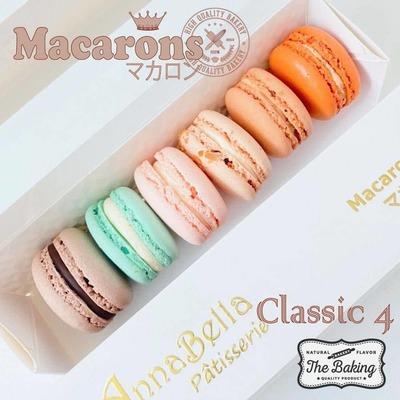 6PCS Macarons in Gift Box (Classic 4) image